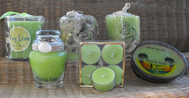 Aromatic Key Lime Candles